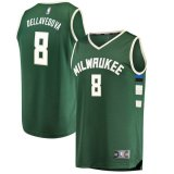 canotta Uomo basket Milwaukee Bucks Verde Matthew Dellavedova 8 Icon Edition