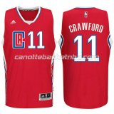 canotta jamal crawford #11 los angeles clippers 2015-2016 rosso