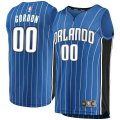canotta Uomo basket Orlando Magic Blu Aaron Gordon 0 Icon Edition
