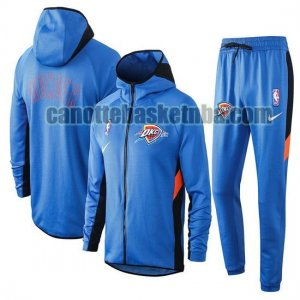 Tuta Sportiva Uomo basket Oklahoma City Blu Nike nba Showtime