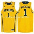 canotte ncaa michigan wolverines glenn robinson #1 giallo