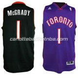 maglia tracy McGrady #1 toronto raptors revolution 30