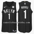 maglia NBA brooklyn nets 2018 d'angelo russell 1 nero