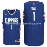 canotte nba dad logo 1 los angeles clippers 2016 blu