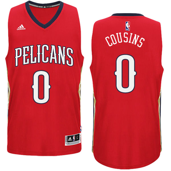 canotta Demarcus Cousins logo 0 new orleans pelicans draft 2016 rosso