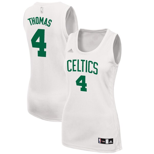 canotta basket donna boston celtics Isaiah Thomas #4 bianca