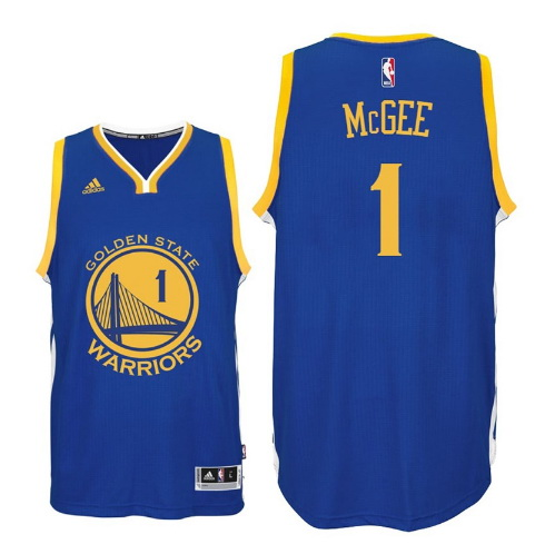 canotta JaVale McGee 1 golden state warriors 2016 blu