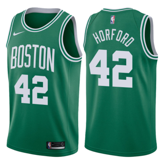 canotta NBA al horford 42 2017-18 boston celtics verde
