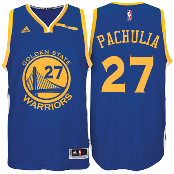 canotta Pachulia Número 27 golden state warriors 2016-2017 blu