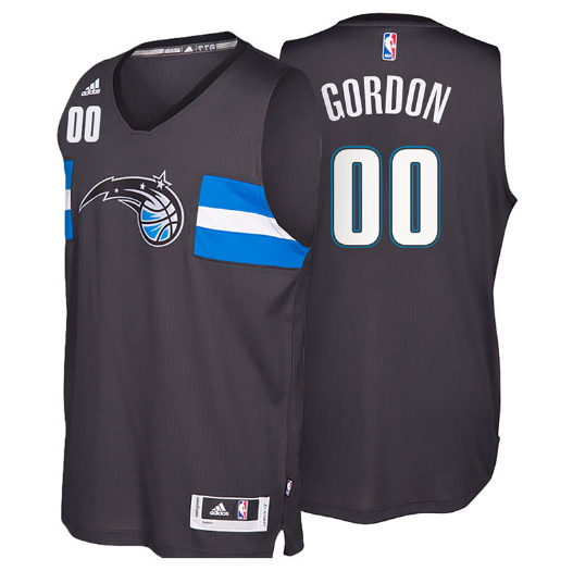 canotta aaron gordon 00 orlando magic 2016-2017 nero