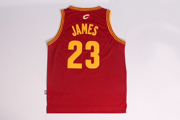 canotta LeBron james #23 cleveland cavaliers revolution 30 rosso