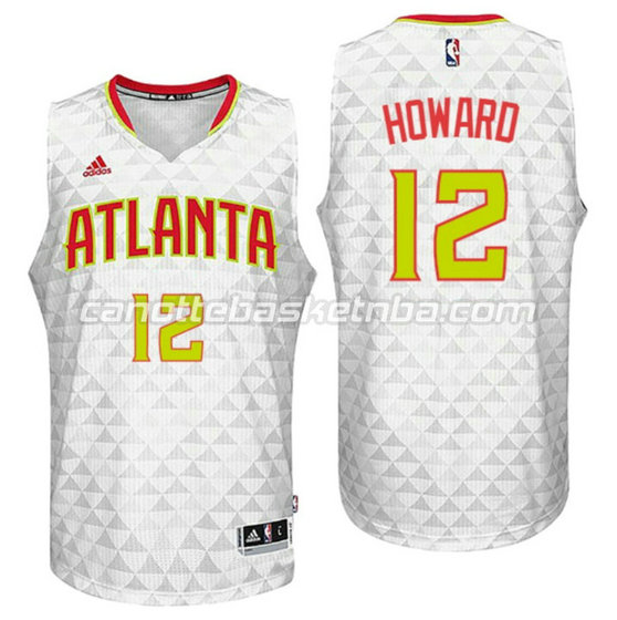 canotta dwight howard 12 atlanta hawks 2015-2016 bianca