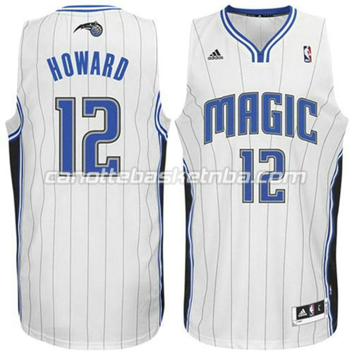 canotta dwight howard #12 orlando magic revolution 30 bianca