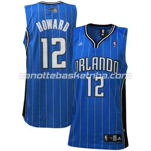 canotta dwight howard #12 orlando magic revolution 30 blu