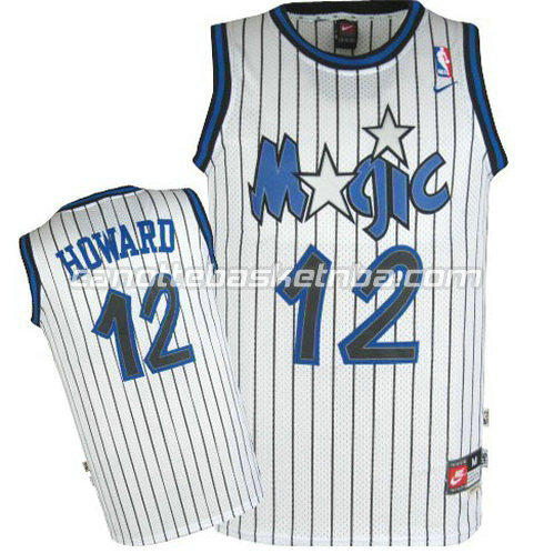 canotta dwight howard #12 orlando magic soul bianca