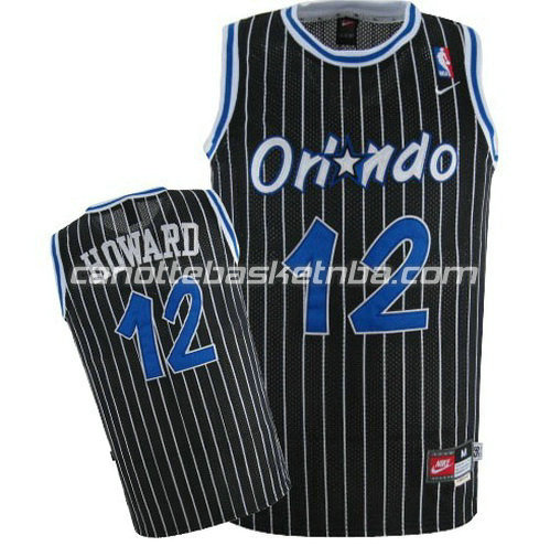 canotta dwight howard #12 orlando magic soul nero
