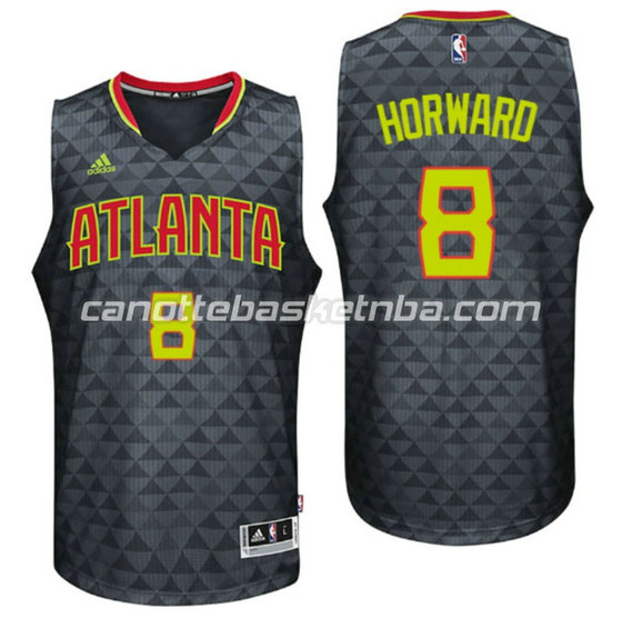 canotta dwight howard 8 atlanta hawks 2015-2016 nero