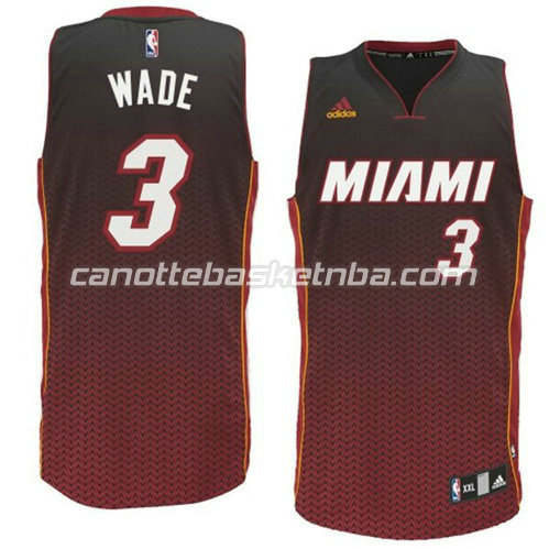 canotta basket dwyane wade #3 miami heat moda resonate