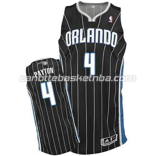 canotta elfrid payton #4 orlando magic alternato nero