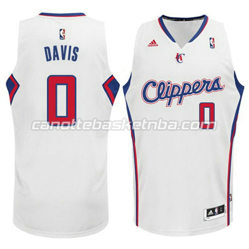 canotta glen davis #0 los angeles clippers 2014-2015 bianca