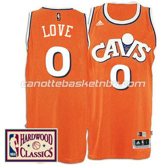 canotta kevin love 0 cleveland cavaliers 2016 2017 arancia