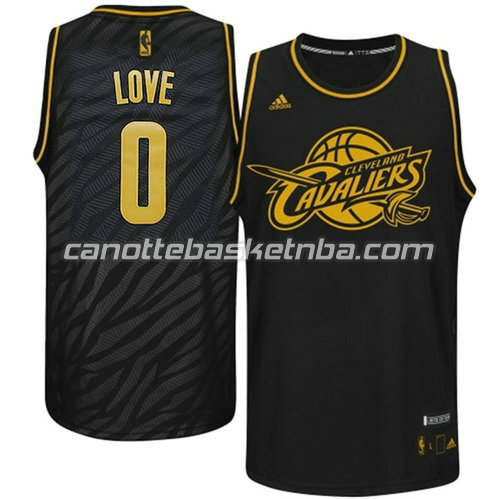 canotta basket kevin love #0 cleveland cavaliers moda nero