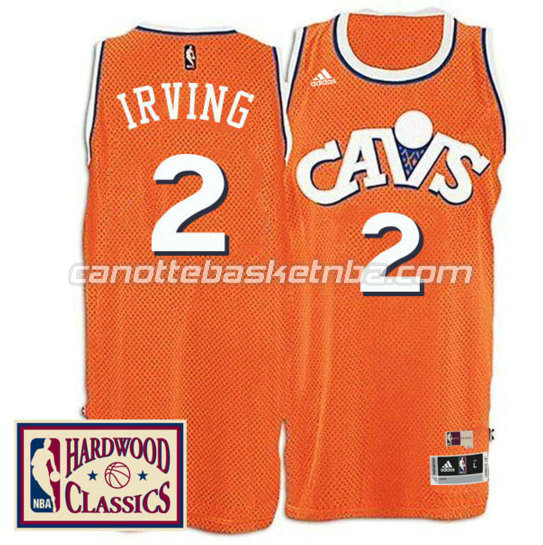 canotta kyrie irving 2 cleveland cavaliers 2016 2017 arancia