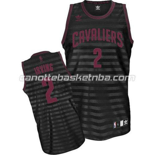 canotta kyrie irving #2 cleveland cavaliers revolution 30 nero