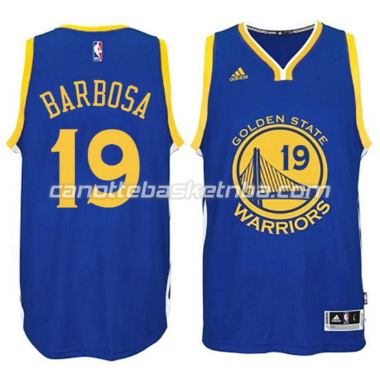 canotta leandro barbosa 19 golden state warriors 2016 blu