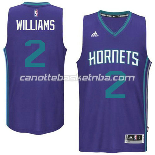 canotta marvin williams #2 charlotte hornets 2015 porpora
