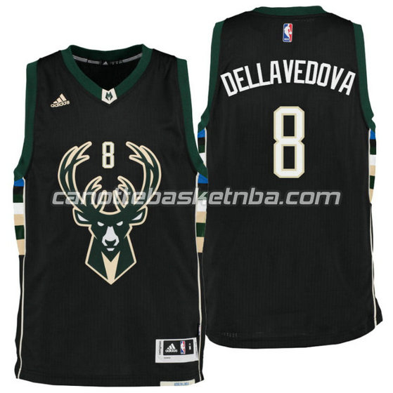 canotta matthew dellavedova 8 milwaukee buck draft 2016 nero