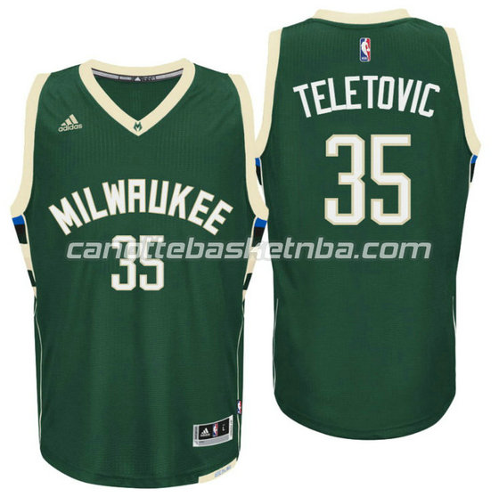 canotta mirza teletovic 35 milwaukee buck draft 2016 verde