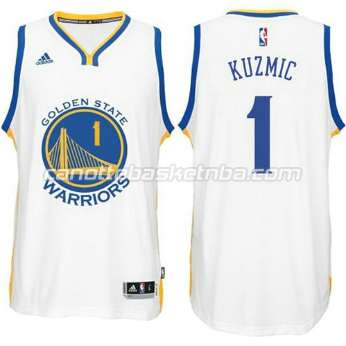 canotta ognjen kuzmic #1 golden state warriors 2014-2015 bianca