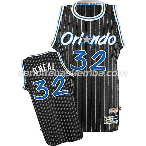 canotta shaquille o'neal #32 orlando magic soul nero