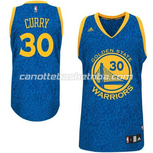 canotta golden state warriors con stephen curry #30 leopard