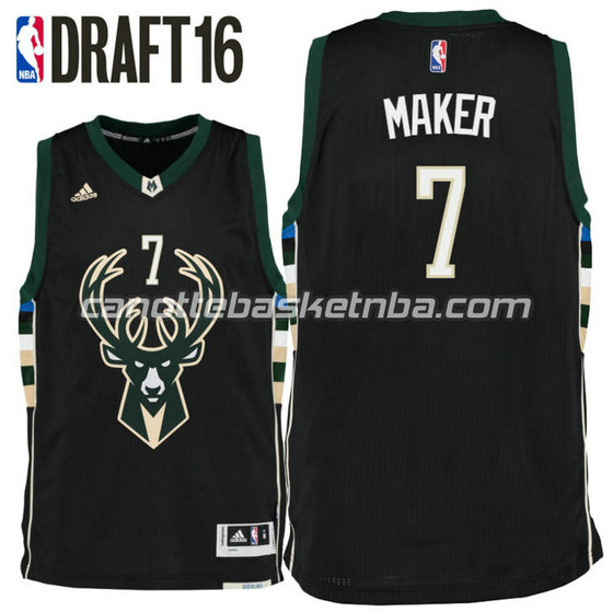 canotta thon maker 7 milwaukee buck draft 2016 nero
