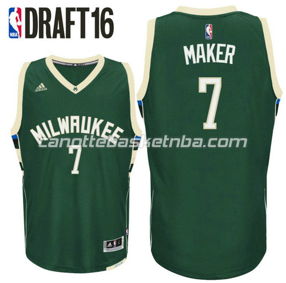 canotta thon maker 7 milwaukee buck draft 2016 verde