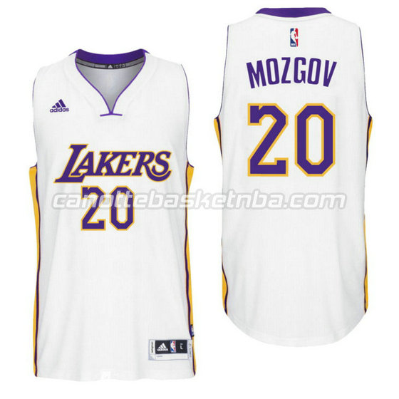 canotta timofey mozgov 20 los angeles lakers 2016 bianca