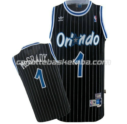 canotta tracy McGrady #1 orlando magic soul nero