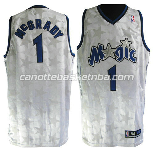 canotta tracy McGrady #1 orlando magic stella bianca