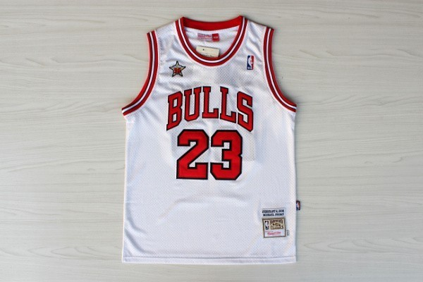 canotte Michael Jordan Nba All Star 1998 bianca