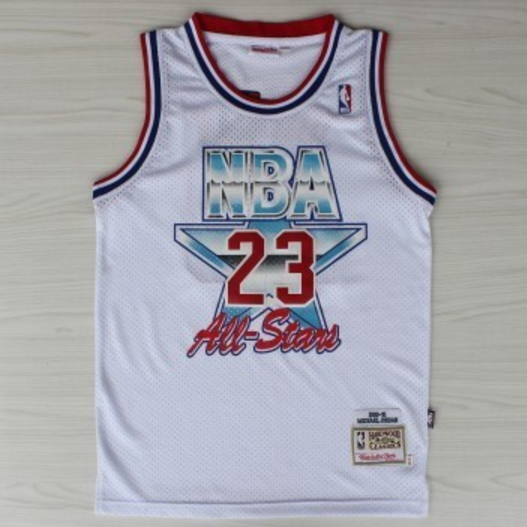 canotte basket Michael Jordan Nba All Star 1992 bianca