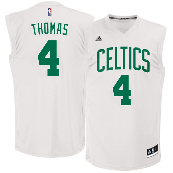 canotte basket NBA Boston Celtics 2016 Isaiah Thomas 4 bianco