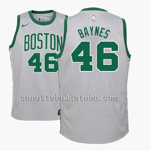 canotte basket NBA Boston Celtics 2018 46 grigio