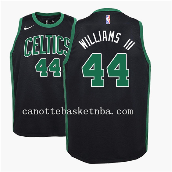 canotte basket NBA Boston Celtics 2018 williams-iii 44 nero