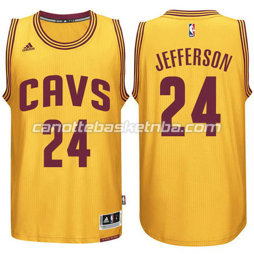 canotta cleveland cavaliers 2014-2015 richard jefferson #24 giallo