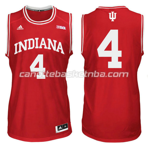 canotte ncaa indiana hoosiers victor oladipo #4 rosso