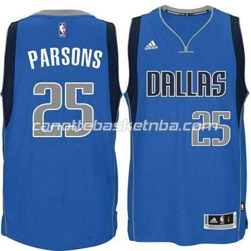 canotta chandler parsons #25 dallas mavericks 2014-2015 blu