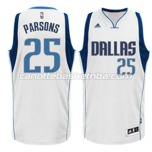 canotta dallas mavericks 2015 chandler parsons #25 bianca