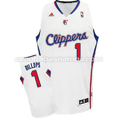 canotta los angeles clippers con chauncey billups #1 rev30 bianca